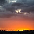 Fire in the Sky - Sunset in the UK by Pixie Copley LRPS