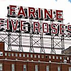 Five Roses Sign © by Ethna Gillespie
