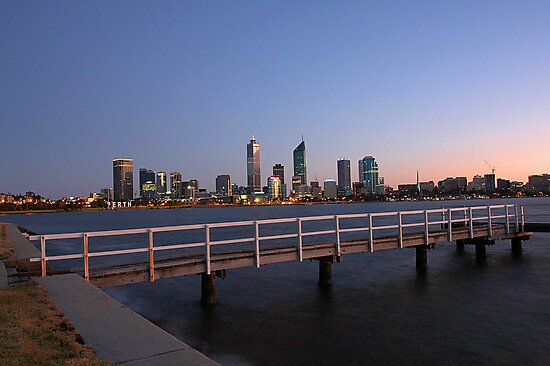 Perth At Dawn by EOS20