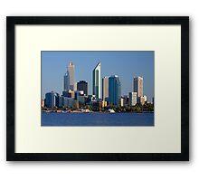 Perth - Western Australia  Framed Print