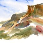Abstract Buttes by bluerabbit