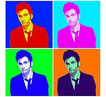 Doctor Who Warhol Photographic Print