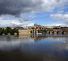 Storm Over Prague by Phillip Moore