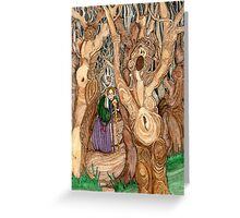 Crone Greeting Card