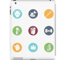 Doctor Who Items iPad Case/Skin