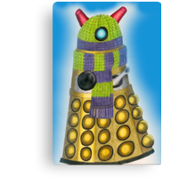 Cuddly Dalek Canvas Print