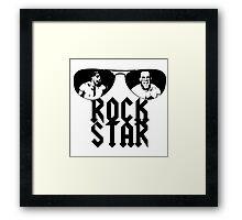 Rockstar Robbie Gilmore Framed Print