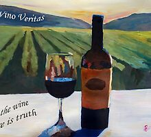 In vino veritas - in the wine there is truth by artshop77