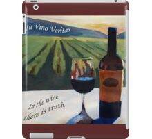 In vino veritas - in the wine there is truth iPad Case/Skin