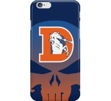Denver Punishers - Retro iPhone Case/Skin