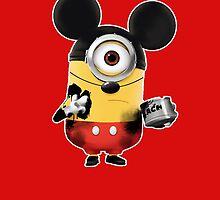 Mickey Minion by OppaiMaster