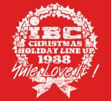 IBC Christmas Line Up- RED T-Shirt