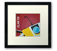 Claptrap! Framed Print