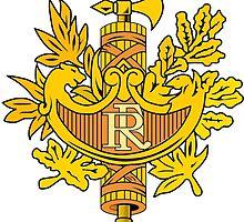 National Emblem of France  by PattyG4Life