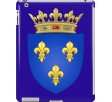 Royal French Coat of Arms, 1376–1515 iPad Case/Skin