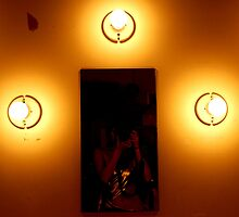 3 Bulbs and Mirror by mfenton