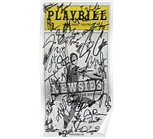 Newsies Playbill - 2012-2013 Casts Poster