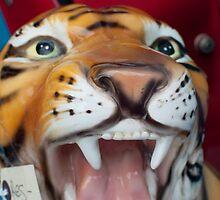 Ceramic Tiger by EricHands