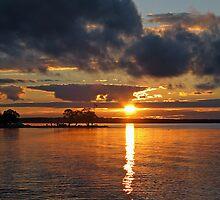 Amazing Sunset by Teresa Zieba