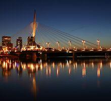 The Bridge Over Calm Waters by Teresa Zieba