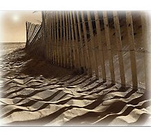 Like Waves in the Sands of Time  Photographic Print