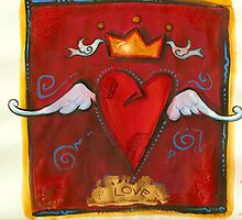 king heart by J-M MACIAS