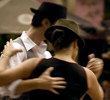 Tango Plaza Dorrego by Andriy Portyanko