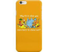 Dr Suess Group iPhone Case/Skin