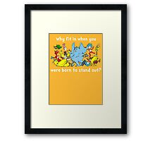 Dr Suess Group Framed Print