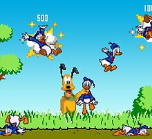 Donald Duck Hunt by vgprints