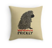 Prickly Porcupine Throw Pillow