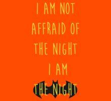 Batman affraid night light Kids Clothes