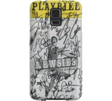 Newsies Playbill - 2012-2013 Casts Samsung Galaxy Case/Skin