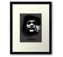 Joker - Life is a joke Framed Print