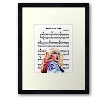 Wicked Little Town - Hedwig Framed Print