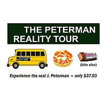 The Real Peterman Reality Bus Tour Shirt Seinfeld Photographic Print