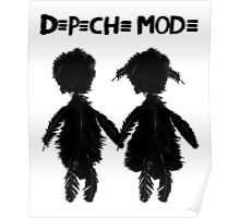 Depeche Mode : Angels Boy and Girl - 2 - Black Poster