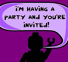 I'M HAVING A PARTY AND YOU'RE INVITED  by ChilleeW