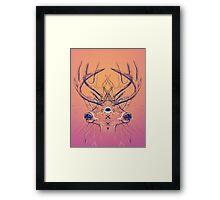 Dutch Deer Framed Print