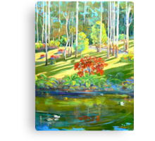 Tamborine Mountain Botanical Gardens ,Early Spring Canvas Print