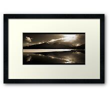 Vermillion Reflections Framed Print