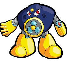 Mega Man 2 Robot Master - Air Man by 57MEDIA