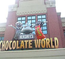 Chocolate world 2 by Johanna  Rutter