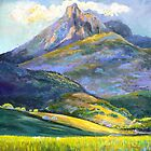Mt.Warning in Springtime by Virginia McGowan