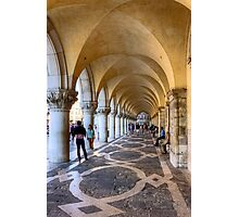 Doge's Palace Colannade Photographic Print