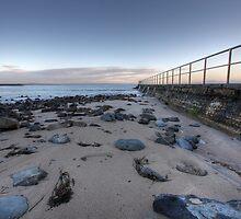 Forster Beach Sunrise by Christopher Meder