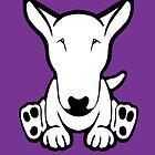 English Bull Terrier Strange Sit  by Sookiesooker