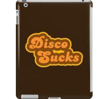 Disco Sucks - Retro 70s - Logo iPad Case/Skin