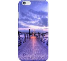 Floating Quay Sunset iPhone Case/Skin