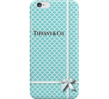 Tiffany & Co. Logo - Quatrefoil Pattern &  Ribbon iPhone Case/Skin
